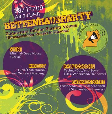 Flyer Bettenhausparty